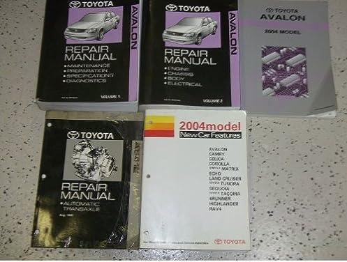 2004 toyota avalon service shop repair manual set oem 04 w ewd rh amazon com Custom Toyota Avalon Toyota Avalon 04 Mod