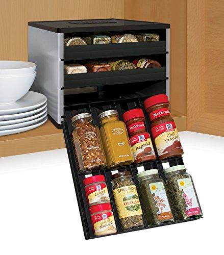 YouCopia SpiceStack 24 Bottle Organizer Universal