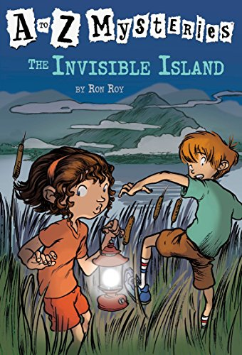 The Invisible Island (A to Z Mysteries) [Roy, Ron] (Tapa Blanda)