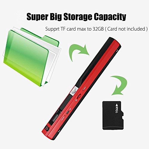 Ingerik Scanner Portable Document Image Handheld Scanner USB Mobile Scanner for Office Home Travel by Ingerik (Image #2)