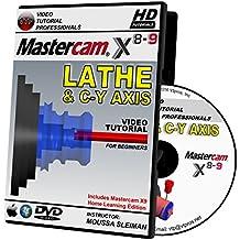 Mastercam X8-X9 LATHE & C-Y AXIS Video Tutorial HD DVD