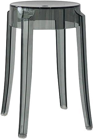 CQ Tabouret en plastique transparent Acrylique épaisse