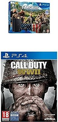 Playstation 4 (PS4) - Consola de 1 TB + Far Cry 5 + COD WWII: Amazon.es: Videojuegos