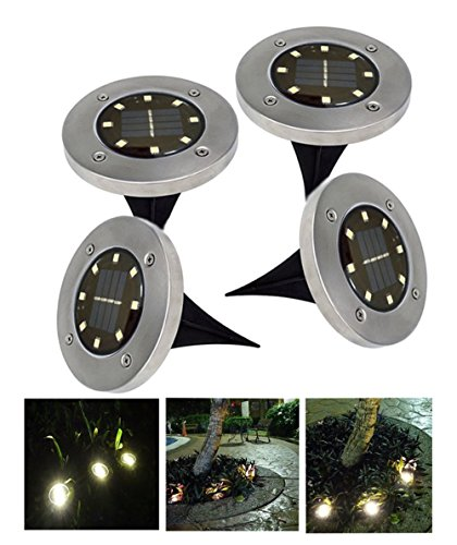 Led Garden Floor Lights
