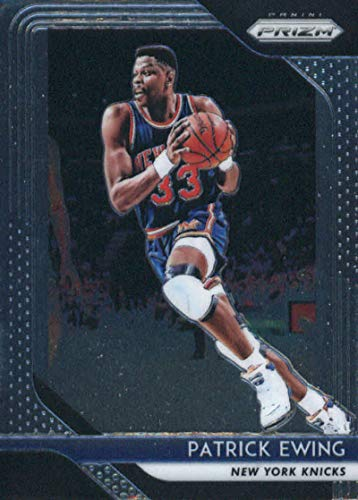 2018-19 Panini Prizm Basketball #105 Patrick Ewing New York Knicks Official NBA Trading Card