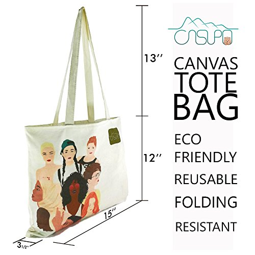 Heavy Duty Strong Oxford Tote Bags For Multipurpose Use Including Crafts, Shopping, Groceries, Eco friendly and Reusable - Recycled Canvas Tote Bags