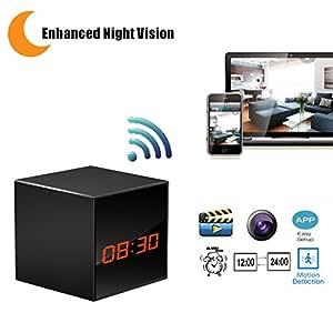 lizvie - Cámara espía HD con visión nocturna mejorada