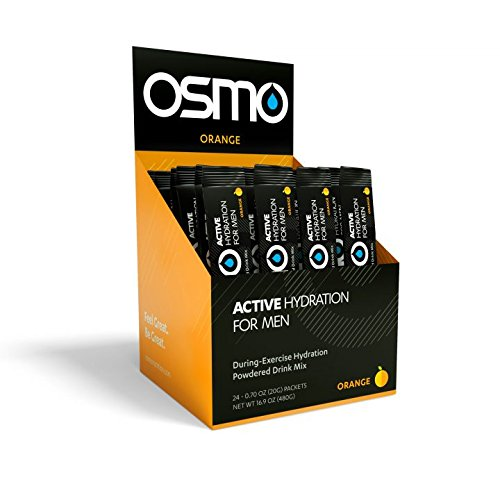OSMO Nutrition Men's Hydration, Orange, 24 Count, 16.9oz by OSMO Nutrition