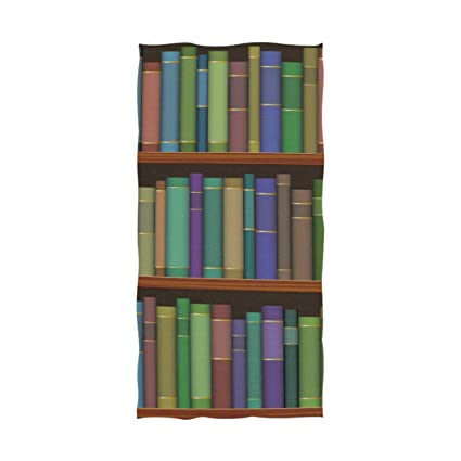 Amazon com: MAPOLO Library Shelves with Old Books 600 GSM
