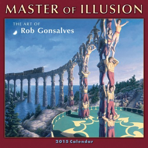 Master of Illusion 2015 Mini Calendar by Rob Gonsalves (August 1, 2014) Paperback