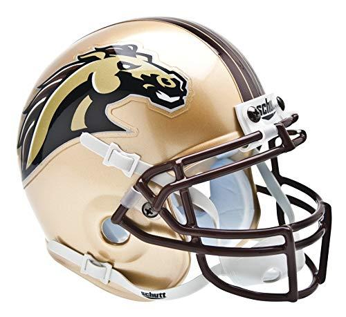B0001KXT8E Schutt NCAA Western Michigan Broncos Mini Authentic XP Football Helmet 51uAFZWF5eL