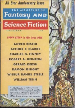 The Magazine of FANTASY AND SCIENCE FICTION (F&SF): October, Oct. 1958 (
