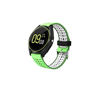 Hzhy Reloj Inteligente Pantalla Redonda Monitor de ...