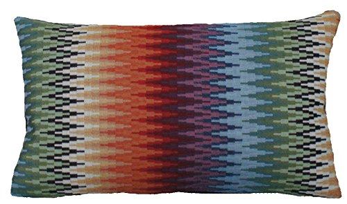 Textile London Oriental Zig Zag - Funda de cojín (Tela ...