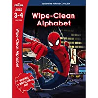 Spider-Man: Wipe-Clean Alphabet Ages 3-4 (Marvel Learning)