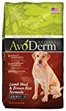 AvoDerm Natural Lamb Meal & Brown Rice Formula Dry Dog Food, 4.4-Pound