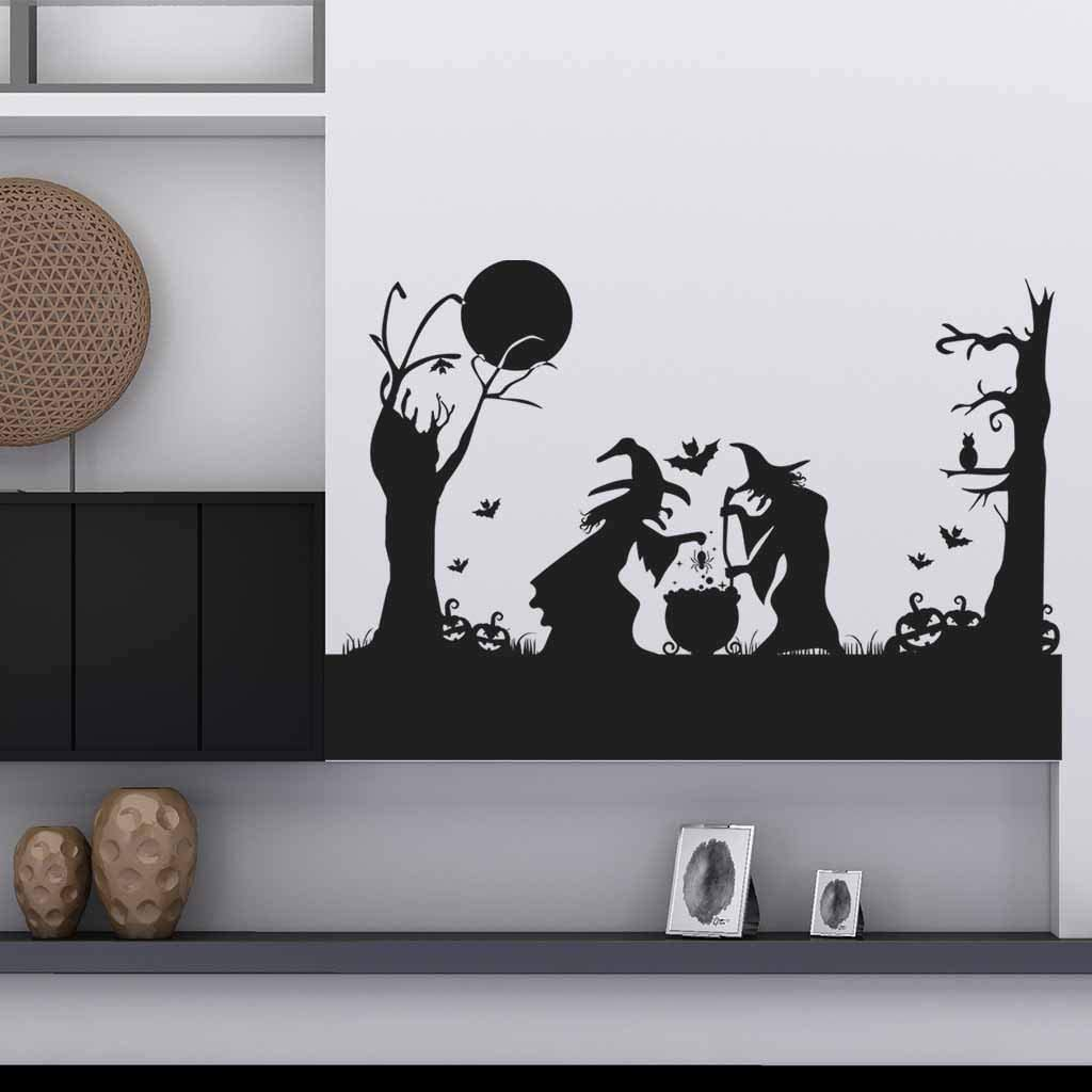 Amazon Com Halloween Wall Decorations Halloween Wall Decals