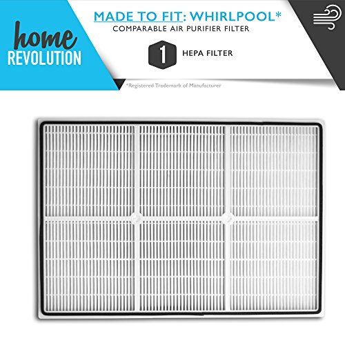 Whirlpool Part # 1183051K for Whirlpool AP250 and AP150 Models, Comparable Air Purifier Filter. A Home Revolution Brand Quality Aftermarket Replacement