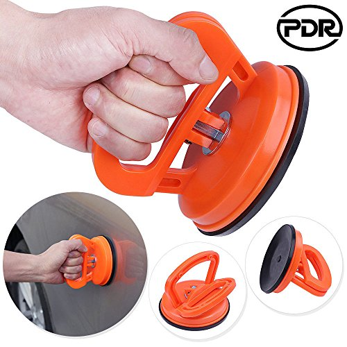 Ocamo Winch-Recovery-Straps 5inch Car Body Dent Repair Kit Dent Puller Car Suction Cup Pad Repair Kit