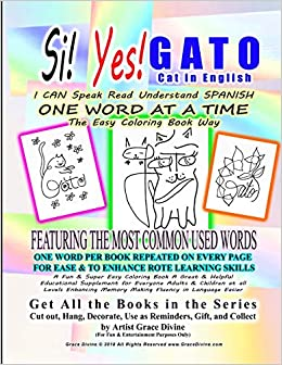 Amazon Com Si Yes Gato Cat In English I Can Speak Read Understand