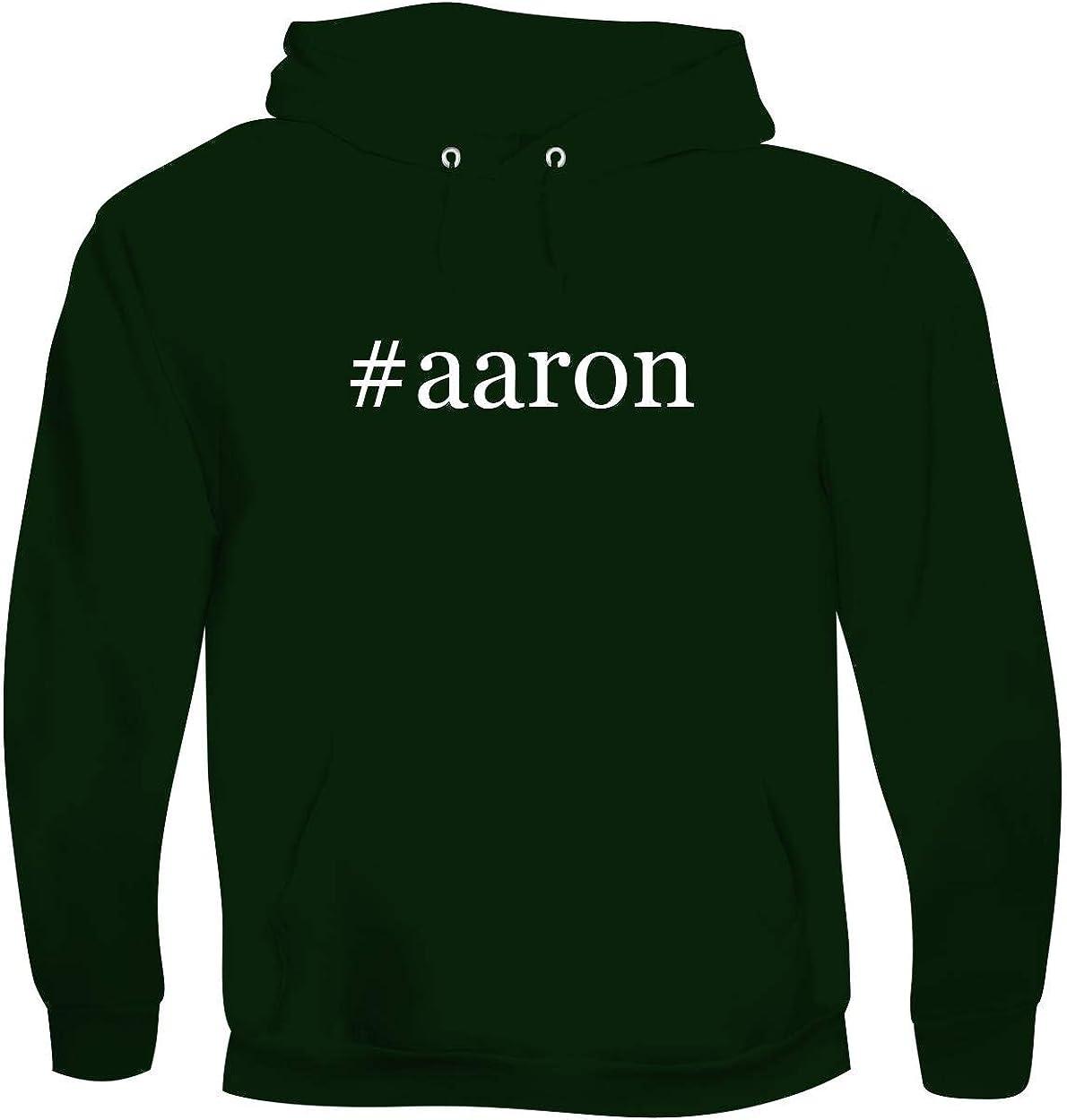 #aaron - Men's Hashtag Soft & Comfortable Hoodie Sweatshirt Pullover