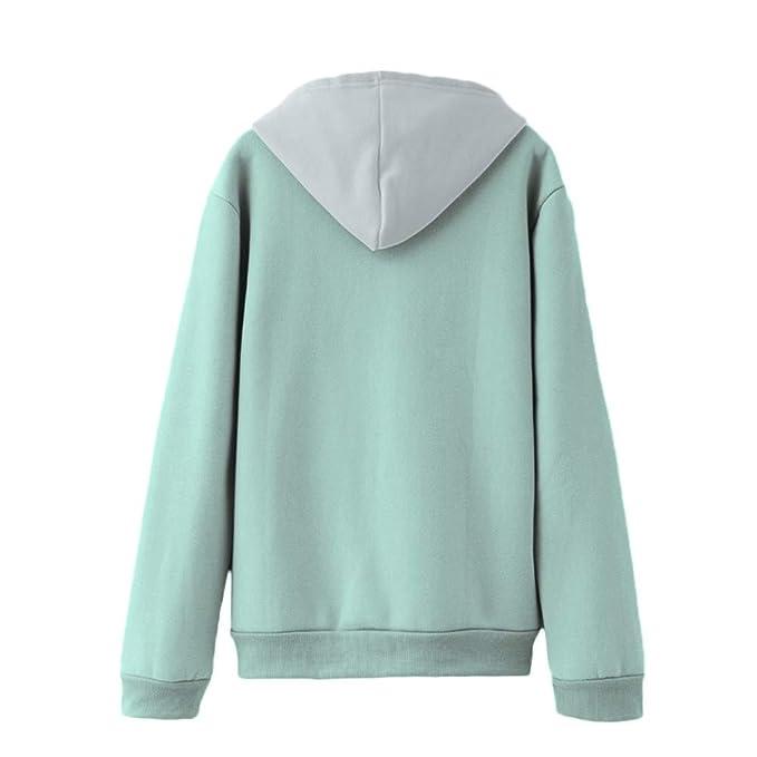 Womens Sweatshirt Laimeng_World 2018 Women Long Sleeve Casual Hooded Sweatshirt Warm Pullover Top Blouse at Amazon Womens Clothing store: