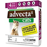 Advecta II Flea Treatment for Cats 5-9 lbs, 4 Month Supply