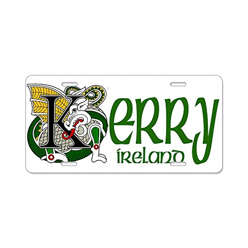 CafePress - Kerry Aluminum License Plate - Aluminum License Plate, Front License Plate, Vanity Tag ()