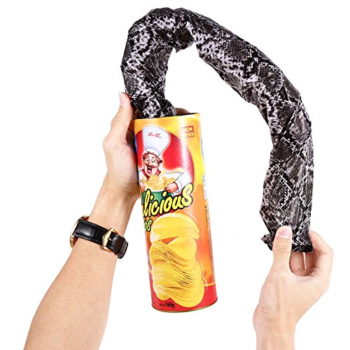 Just us Funny Simulated Crisps Shocking Snake Trick Joke Party Novelty & Gag Toys Gift For Kids Children Surprising Props