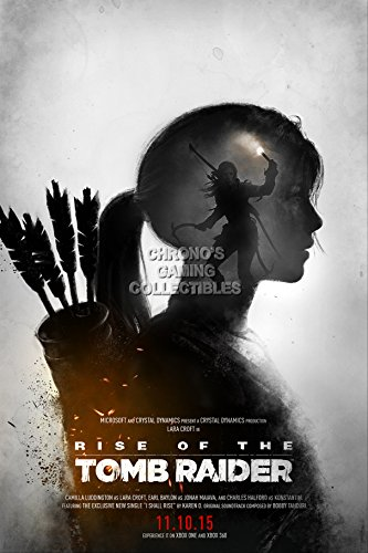 CGC Huge Poster - Rise of the Tomb Raider PS4 XBOX ONE 360 -