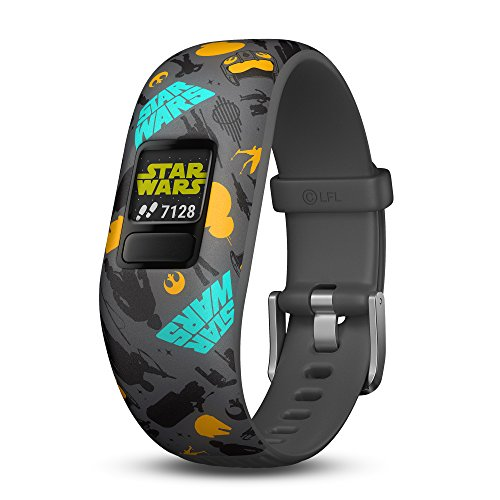 (Garmin vívofit jr 2, Kids Fitness/Activity Tracker, Star Wars The Resistance, 1-year Battery Life)