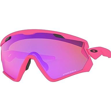 Oakley Sonnenbrille Wind Jacket 2.0 Matte Neon Pink/Prizm Trail BpSX00A