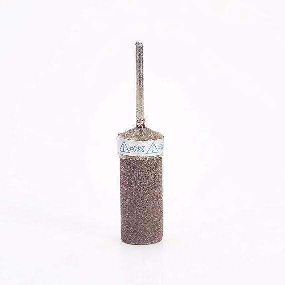 Sandpaper Sticks Cylinder Polishing Grinding Mounted Point 800 Grits 2 Pcs