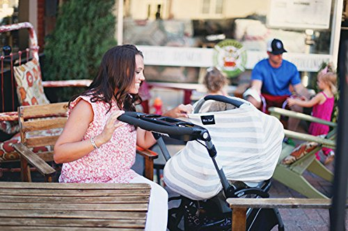 AS SEEN ON SHARK TANK The Original Milk Snob Infant Car Seat Cover and Nursing Cover Multi-Use 360/° Coverage Breathable Stretchy Lumberjack