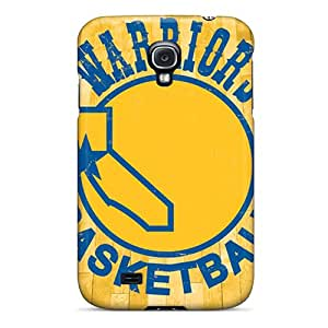 Best Hard Phone Covers For Samsung Galaxy S4 (Mxf12465gtzi) Allow Personal Design Realistic Golden State Warriors Image