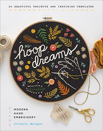 Hoop Dreams: Modern Hand - Dreams Cross Stitch