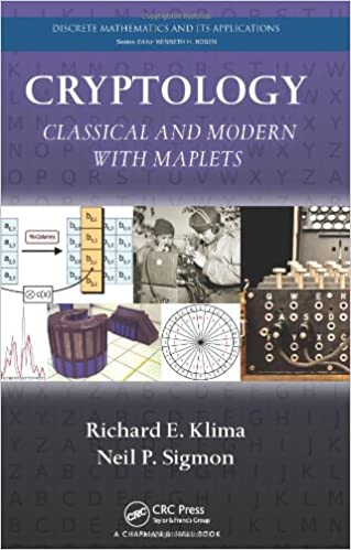 Cryptology Classical And Modern With Maplets Discrete Mathematics Its Applications 1st Edition