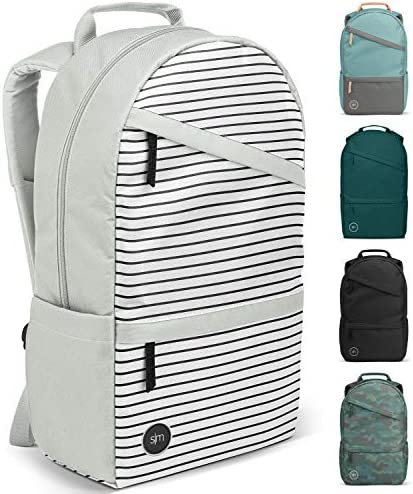 Simple Modern Legacy Backpack with Laptop Compartment, Glacier Stripes, 25 Liter