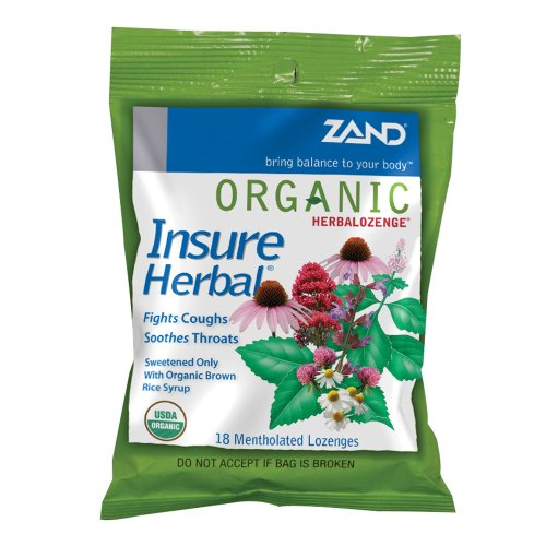 UPC 041954235032, Zand Insure Herbalozenge Organic, Herb, 18 Count (Pack of 3)