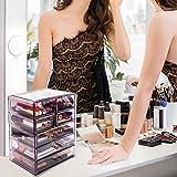 Sorbus Cosmetics Makeup and Jewelry Big Purple