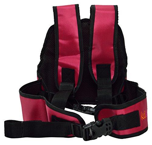Kidsafe Belt - Two Wheeler Child Safety Belt - Cool Pink Butterfly by Kid-Safe (Image #5)