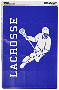 Graphics and More Lacrosse Sport Mag-Neato's Novelty Gift Locker Refrigerator Vinyl Puzzle Magnet Set