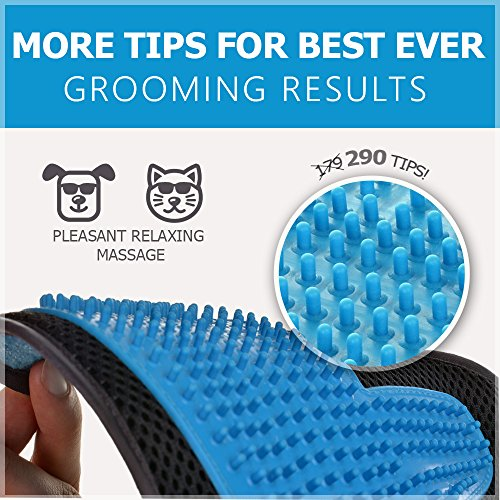 2-in-1-Pet-Glove-Grooming-Tool-Furniture-Pet-Hair-Remover-Mitt-For-Cat-Dog-Long-Short-Fur-Gentle-Deshedding-Brush-Rubber-Tips-for-Massage-Soft-Groomer-Mitt-Your-Pet-Will-Love-It