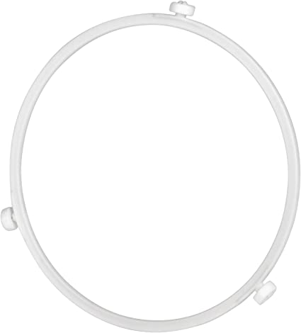 8.7 2pcs Microwave Turntable Plate Rotating Ring Microwave Glass Tray Ring Microwave Roller Ring Plate Support Replacement