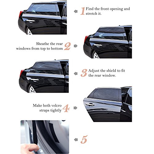 outlet 2 pi ces pare soleil voiture par hiveseen parasol universel pliable nuances de auto. Black Bedroom Furniture Sets. Home Design Ideas