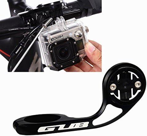 gub 669 MTB bicicleta de carretera ordenador cámara soporte manillar extensión ordenador de bicicleta Soporte para cámara para Garmin Cateye GoPro used, color negro: Amazon.es: Deportes y aire libre