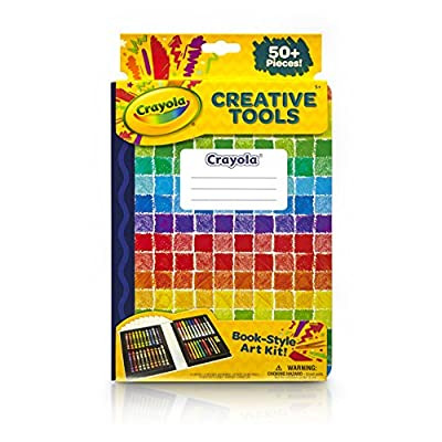 Crayola Creative Tools Art Set, School Supplies, Gift, Over 50 Pieces, (Model: 04-6828): Toys & Games