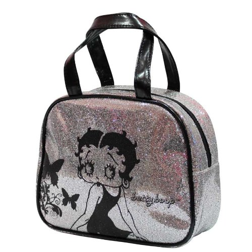 Glitter Betty and Boop Boop Betty and Betty Toiletry Make Make Glitter Up Bag Up Bag Toiletry Boop rwIPOrA