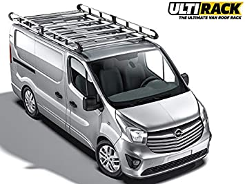 Ulti Van – Baca para Opel Vivaro 2014on 7 bar – twin-door L1H1: Amazon.es: Coche y moto