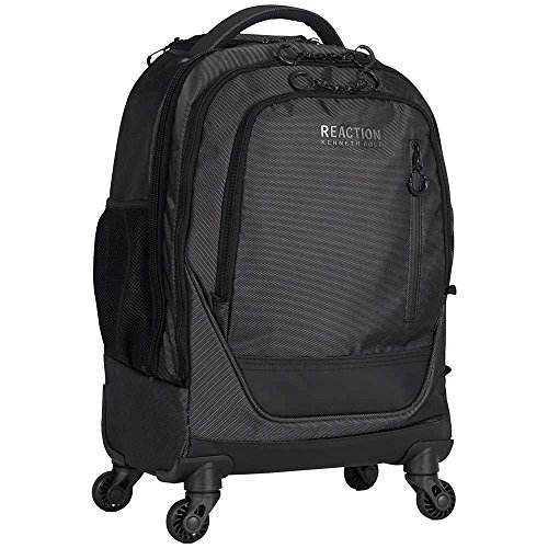 Kenneth Cole Dual Compartment 4-Wheel 17'' Computer Carry-on Backpack in Silver by Kenneth Cole LLC